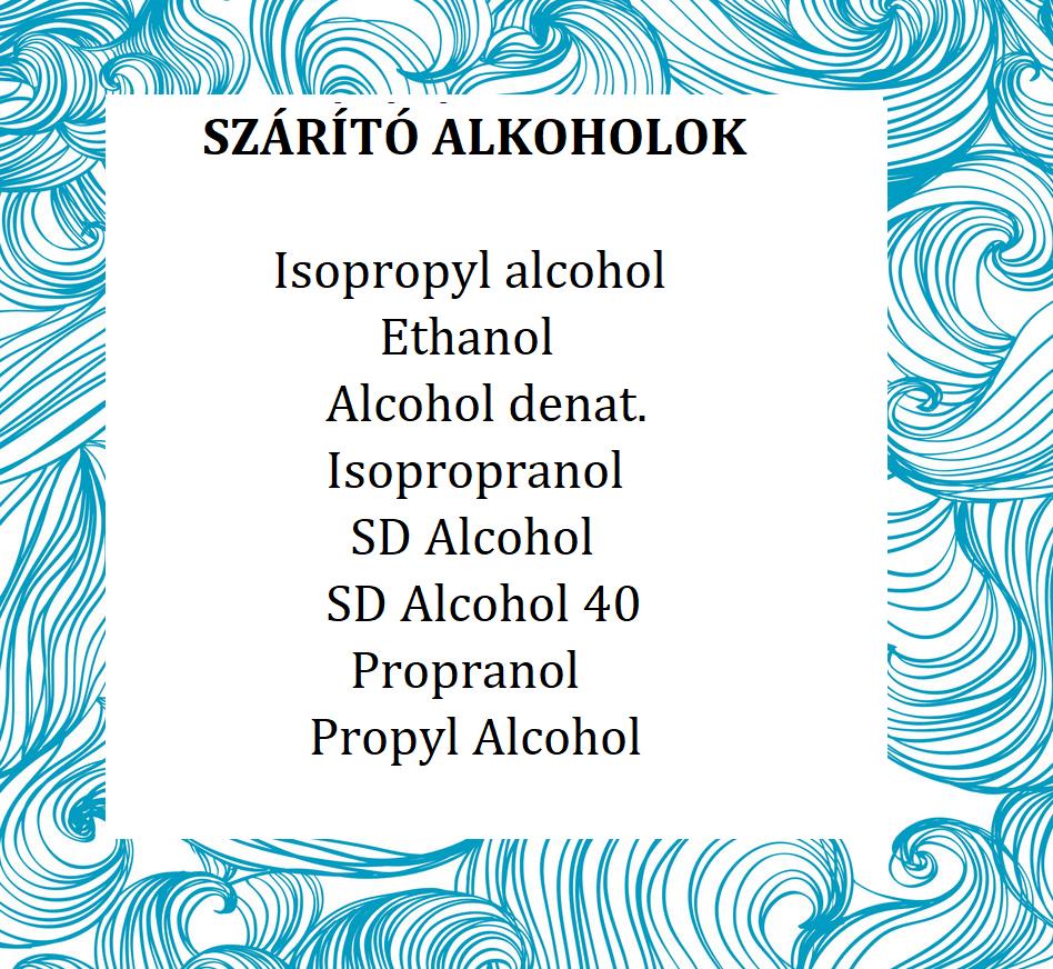 alkoholok